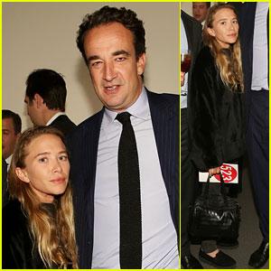 Mary-Kate Olsen & Fiance Olivier Sarkozy Cozy Up in New York
