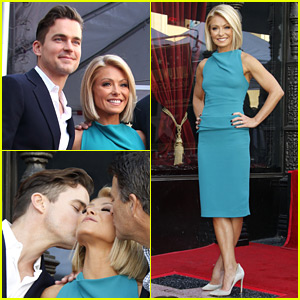 Matt Bomer Supports Kelly Ripa at Her Hollywood Walk of Fame Ceremony!
