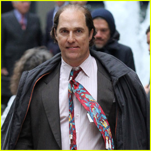 Matthew McConaughey is Nearly Unrecognizable on 'Gold' Set