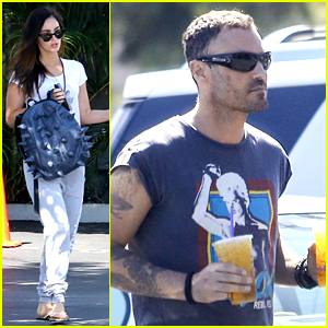 Megan Fox & Brian Austin Green Step Out Amid Divorce Filing