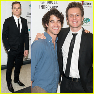 Michael C. Hall, Jonathan Groff & More Team Up At 'Gross Indecency' Benefit Reading!