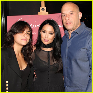 Michelle Rodriguez Reunites With Vin Diesel for Pal's Book Event