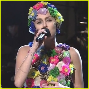 Miley Cyrus Sings About Summer Scandals in 'SNL' 2015 Monologue Video - WATCH NOW!