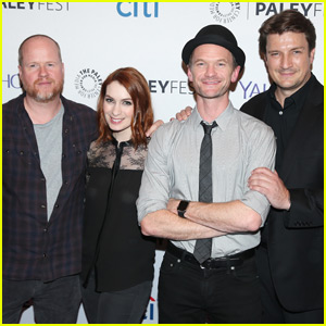 Neil Patrick Harris Attends 'Dr. Horrible's Sing-Along Blog' Reunion With Nathan Fillion & Felicia Day