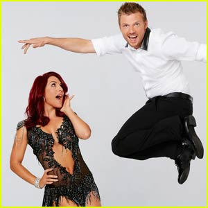 Nick Carter Breaks Out Backstreet Boy Moves for 'Dancing With the Stars' Jazz With Sharna Burgess (Video)