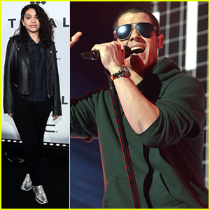 Nick Jonas & Alessia Cara Hit The Stage For Tidal X