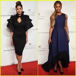 Nicole Scherzinger & Laverne Cox Are Ballet Gala Beauties