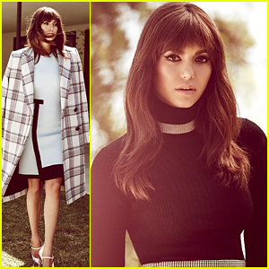 Nina Dobrev Wears Bangs For New 'WhoWhatWear' Fashion Feature