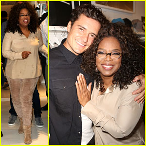 Oprah Shops with Orlando Bloom After 15 Pound Weight Loss