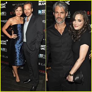 Peter Sarsgaard & Maggie Gyllenhaal Couple Up At 'Experimenter' Premiere with Winona Ryder!