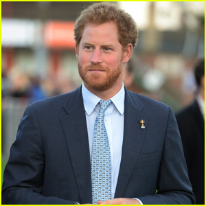 Prince Harry Presents Paignton Rugby Club With an Award