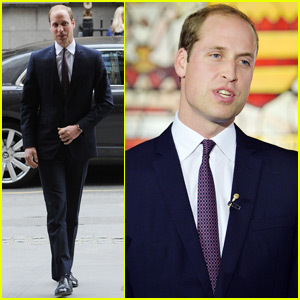 Prince William Shows His Support For Endangered Animals