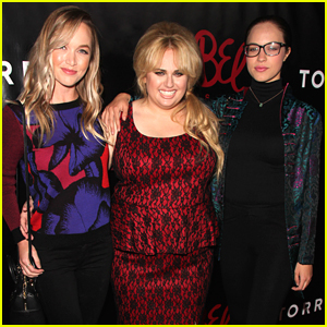 Rebel Wilson Has 'Pitch Perfect 2' Reunion At Torrid Launch Party