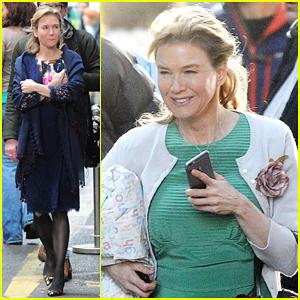Renee Zellweger Hits Borough Market For 'Bridget Jones's Baby' Filming!