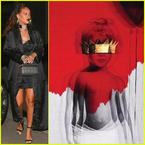 Rihanna Reveals New Album Artwork & Title - ANTI!