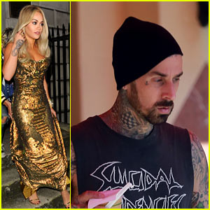 Rita Ora Sizzles in London As New Boyfriend Travis Barker Keeps it Low-Key in LA