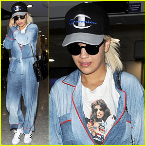 Rita Ora's New Beau Travis Barker Dishes on Their Relationship