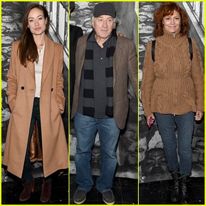 Robert De Niro Premieres 'Ellis' With Olivia Wilde & Susan Sarandon