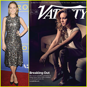 Room's Brie Larson Stuns at Her Big L.A. Premiere!