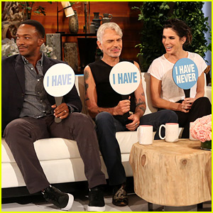 Sandra Bullock & 'Our Brand Is Crisis' Co-Stars Play Funny Game of 'Never Have I Ever' on 'Ellen' - Watch Now!