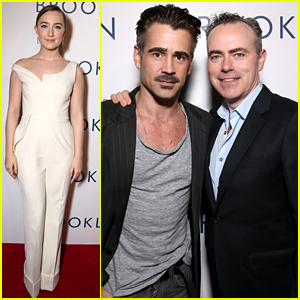 Colin Farrell Joins Saoirse Ronan At 'Brooklyn' Premiere in LA
