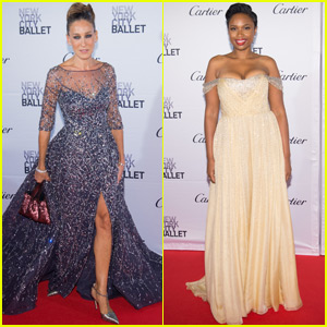 Sarah Jessica Parker & Jennifer Hudson Glam Up for the Ballet