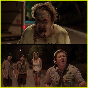 'Scouts Guide' Cast Sings Britney Spears with a Zombie - Exclusive Clip!
