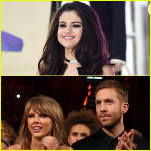 Taylor Swift & Calvin Harris Breakup Rumors Are 'Stupid,' Says Selena Gomez