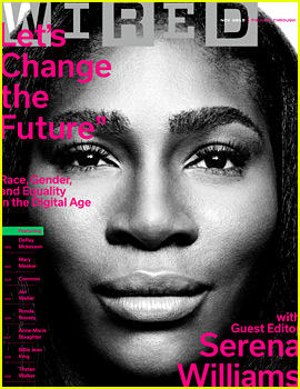 Serena Williams Tackles Race, Gender, & Equality Issues in 'Wired'