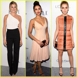 Shailene Woodley Makes Rare Appearance at Elle Women in Hollywood Awards With Nina Dobrev & Kiernan Shipka