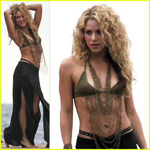 Shakira Flaunts Toned Abs During Sexy Video Shoot
