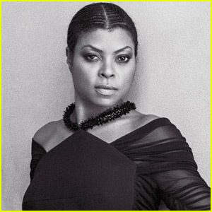Taraji P. Henson Goes Natural in 'CR Fashion Book'