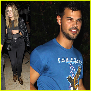 Taylor Lautner Hits Hollywood Nightclub With Ashley Benson