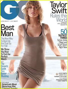 Taylor Swift Covers 'GQ' For the First Time Ever!