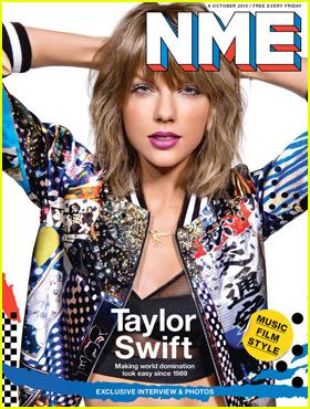 Taylor Swift Talks Nicki Minaj & Kanye West for 'NME' Cover
