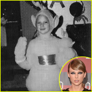 This is What Taylor Swift Looks Like Dressed as a Teletubby