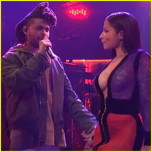 Nicki Minaj Joins The Weeknd on 'Saturday Night Live' (Video)