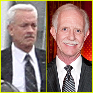 Tom Hanks as Captain Sully - First Look Photos!