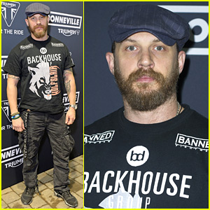 Tom Hardy Makes First Appearance Since New Baby's Birth!