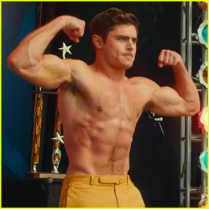 Zac Efron's Shirtless Body Is Insane in First 'Dirty Grandpa' Trailer - Watch Now!