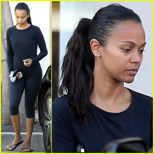 Zoe Saldana Opens Up About Her Twins Bowie & Cy Being Premature