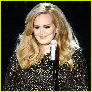 Adele Admits That She Cries to Her Music Too!