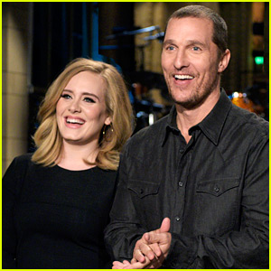 Adele Says 'Hello' for Matthew McConaughey in 'SNL' Promo!