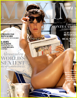 Alessandra Ambrosio Strips Down for Sexy 'Maxim' Cover!