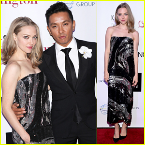 Amanda Seyfried Helps Honor Designer Prabal Gurung At K.I.D.S/Fashion Delivers Gala!