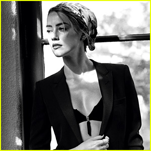 Amber Heard Talks Johnny Depp, Wage Equality, & More with 'C' (Exclusive Photos)