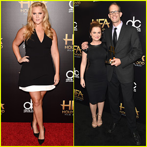 Amy Schumer Wins Big at the Hollywood Film Awards 2015!