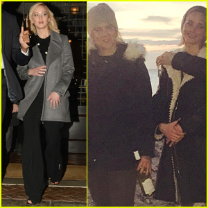 Amy Schumer & Jennifer Lawrence Spend Thanksgiving on the Beach
