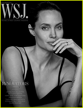 Angelina Jolie Talks Marriage, Her Health, Family & More with 'WSJ'