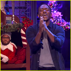 Anthony Mackie Performs 'I Kissed a Girl' on 'Lip Sync Battle'